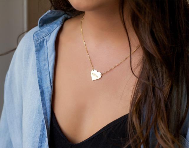 Engraveable Necklaces